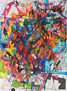 Creativity Drawings - The Subject in Entirety 1 by David Wolk