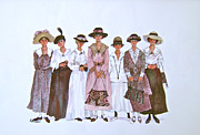 Voters Prints - The Suffragettes Print by Sherri Crabtree