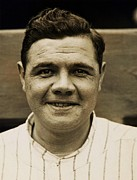 Babe Ruth Photos - The Sultan of Swat by Pg Reproductions