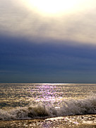 Long Island New York Prints - The Sun and the Sea Print by Vicki Jauron