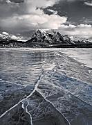 Alberta Landscape Photos - The Sun Is Shining But the Ice Is Slippery by Royce Howland