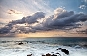 The Sun Looking Down Print by Jon Glaser
