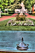 Annapolis Md Posters - The Sundial Poster by JC Findley