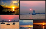The Sunsets Of Long Island Print by  Photographic Art and Design by Dora Sofia Caputo