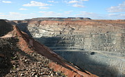 Australian Open Metal Prints - The Super Pit 2 Metal Print by Carl Koenig