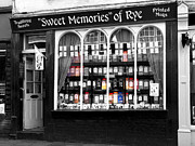 High Street Photos - The Sweet Shop by Louise Heusinkveld