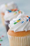 Cupcake Photography Prints - The Swirl Print by Kay Pickens