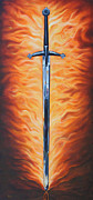 Prophetic Paintings - The Sword of the Spirit by Ilse Kleyn