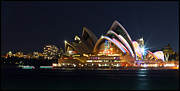 Sydney Photographs Prints - The Sydney Opera House Print by Craig Lambert