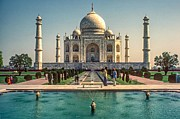 World Wonder Prints - The Taj Maha Print by Steve Harrington