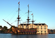 Gregory Dyer - The Tall Clipper Ship Stad Amsterdam - Sailing Ship  - 05
