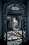 The Tea House Vizcaya Museum And Gardens Biscayne Bay Miami Florida Print by Amy Cicconi