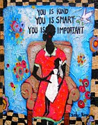 Smart Painting Posters - The Teacher Poster by Linda Morgan Smith