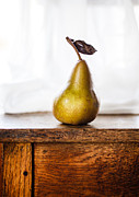 Pear Art Photo Prints - The Teachers Pet Print by Constance Fein Harding