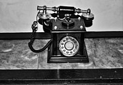 Antique Telephone Photos - The Telephone by Aidan Moran