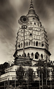 Long Exposure Metal Prints - The Temple Metal Print by Muhammad AlMuhammady