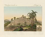 The Temple Of Buddha Of Borobudur In Java Print by Splendid Art Prints