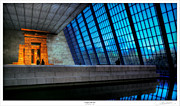 Lar Matre Metal Prints - The Temple of Dendur Metal Print by Lar Matre
