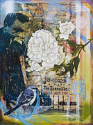 Mockingbird Paintings - The Tennessean by Andrea LaHue aka Random Act