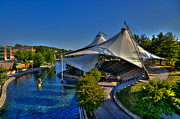 Knoxville Prints - The Tennessee Amphitheater - Knoxville Tennessee Print by David Patterson