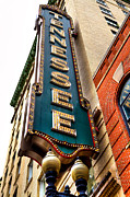 City Buildings Posters - The Tennessee Theatre - Knoxville Tennessee Poster by David Patterson