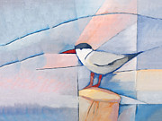 Cubism Art - The Tern by Lutz Baar