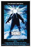 Vintage Movie Posters Art - The Thing by Sanely Great