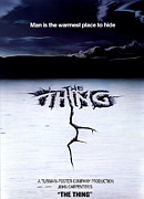Vintage Posters Art - The Thing Poster by Sanely Great