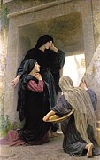 Jesus Digital Art Prints - The Three Marys At The Tomb Print by William Bouguereau