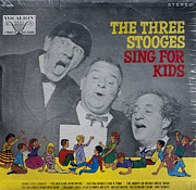 Television Stars Prints - The Three Stooges Sing For Kids Print by Official Three Stooges