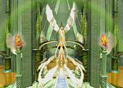 Throne Room Digital Art - The Throne Of God by Todd L Thomas