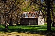Rusted Tin Roof Photos - The Tin Roof by Dorothy Pinder