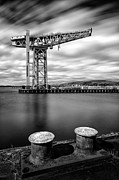 Crane Framed Prints - The Titan Framed Print by John Farnan