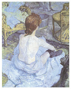 Toulouse-lautrec Prints - The Toilette Print by Henri De Toulouse-Lautrec