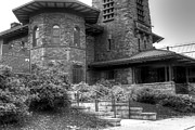 Zug Photos - The Toledo and Ohio Central Railroad Station and Macklin Hotel 02 BW by J M L Patty