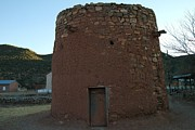 Old Relics Photos - The Torreon In Lincoln City New Mexico by Jeff  Swan