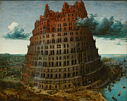 Famous Artists - The Tower of Babel by Pieter Bruegel the Elder