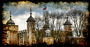 Normans Framed Prints - The Tower of London Framed Print by Joanna Madloch