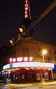 Kevin J Cooper Artwork - The Tower Theater...
