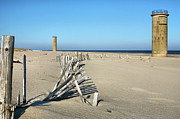 Rehoboth Beach Prints - The Towers Print by JC Findley