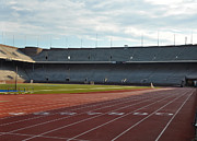 Franklin Art - The Track at Franklin Field by Bill Cannon