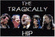 The Tragically Hip Mosaic Print by Paul Van Scott