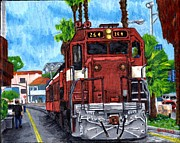 Blake Grigorian - The Train From Santa Cruz