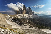 Drei Prints - The Tre Cime di Lavaredo Print by James Rushforth