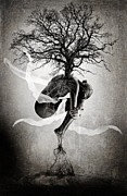 Photo Manipulation  Prints - The Tree of Life Print by Erik Brede