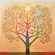 Inspirational Paintings - The Tree of Life by Richard  Quinn