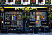 Trigger Prints - The Trigger and Dave pub Print by David Pyatt
