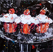 Torn Paintings - The Triplets by Suzy Pal Powell