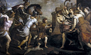 Famous Artists - The Triumph of David by Palma il Giovane