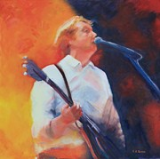Paul Mccartney Portrait Paintings - The Troubadour by Frank Quinn